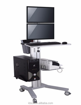 PC Mobile Cart/computer Table/laptop Table VZ1602A
