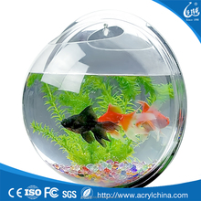 New Design Wall Mounted Fish Bowl <span class=keywords><strong>Acrílico</strong></span> Como Peixe Bolha