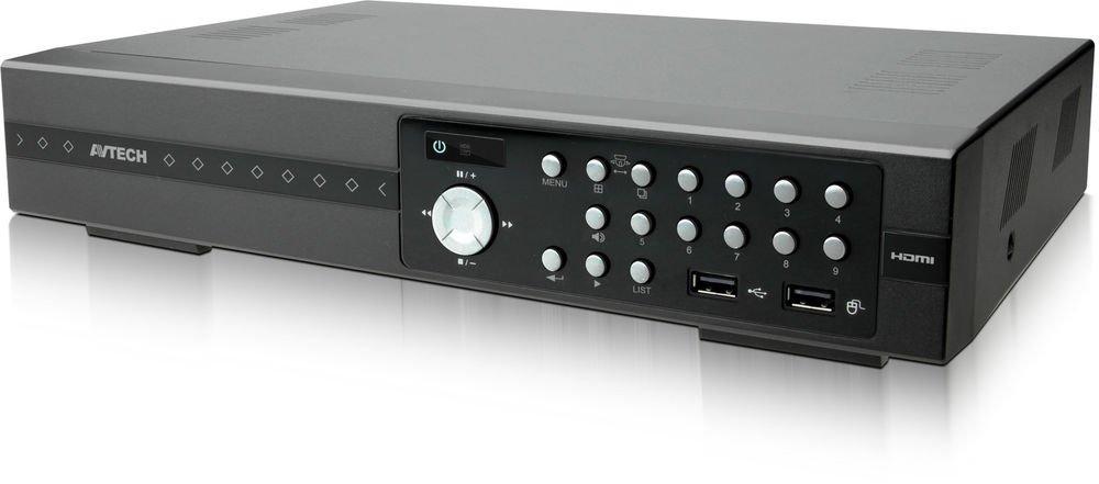 AvTech AVZ308 Quadbrid (IP / TVI / Analog HD / 960H) 8CH HD CCTV DVR