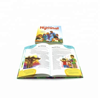 Kids Cartoon Bible Story Hardcover Book Printing Service With Illustration