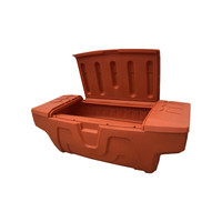 4x4 plastic/ rotational truck tool storage box toolboxes for universal pickup