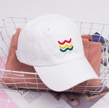 7f6375958660 2019 Fashion New Cotton Unisex Women Men Hats White Embroidery Baseball Cap  Snapback Casual Caps