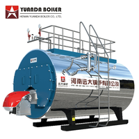 High Efficient Natural Gas LPG Diesel Fired Boiler Machine Steam Output for Industrial use