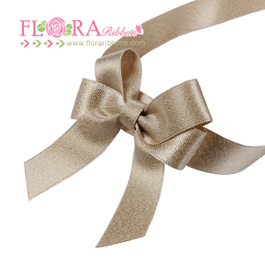 Gift packing mini satin ribbon rose flowers