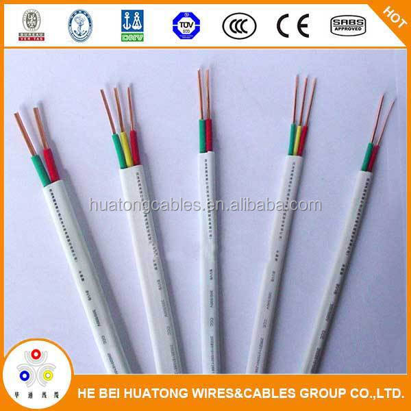 Top quality wholesale flat wire power cord cable flat lift cable flat type flexible cable