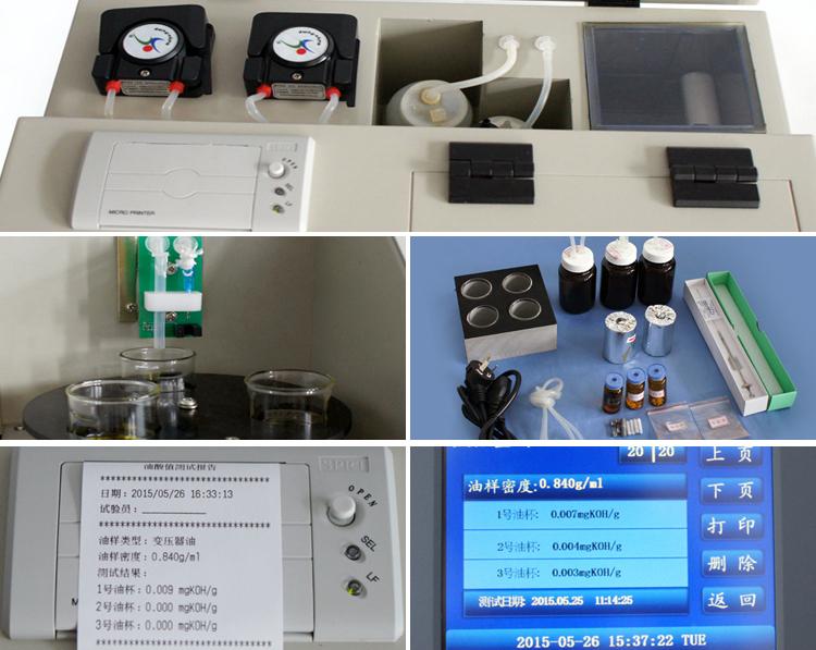 HZCS Fuldautomatisk Syrerid af Transformer Olie Test Kit