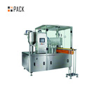 Automatic stand up pouch with spout filling capping machine