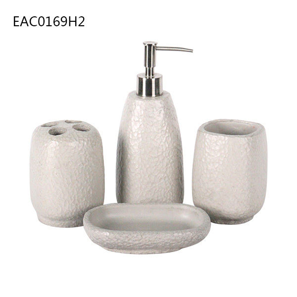 Cement And Concrete Bathroom Accessories Marble Bathroom Sets Soap Dispenser Buy Bathroom