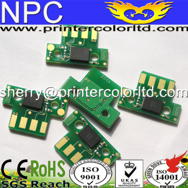 Compatible for Lexmark CX310 CX410 CX510 toner cartrige chip