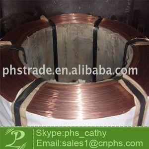 Copper coated Tyre bead wire