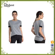Factory directly New Custom Disbest High Quality Comfy Loose Casual O Neck Short Sleeve Women T Shirt