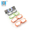 Multi color plastic solar eclipse viewing glasses for everyone