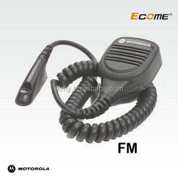 Ip57 Submersible Remote Speaker Microphone For Motorola Gp328 Gp338 on