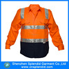 shenzhen hi vis garment wholesale mechanic safety shirts