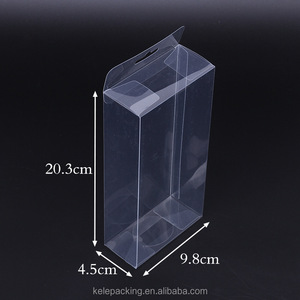 Yiwu High Quality Customized Printing Rectangle Clear PET PP Plastic Blister Packaging Gift Boxes Transparent PVC Folding Box