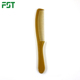 pearwood anti static beard comb with pu leather bag professional plastic salon use hair dyeing comb