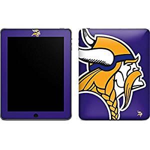 NFL Minnesota Vikings iPad Skin - Minnesota Vikings Retro Logo Vinyl Decal Skin For Your iPad