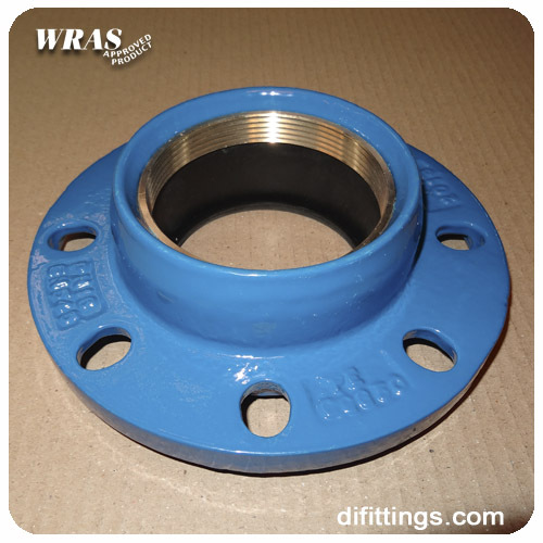 Quick pe pipe fitting universal joint pvc flange adapter