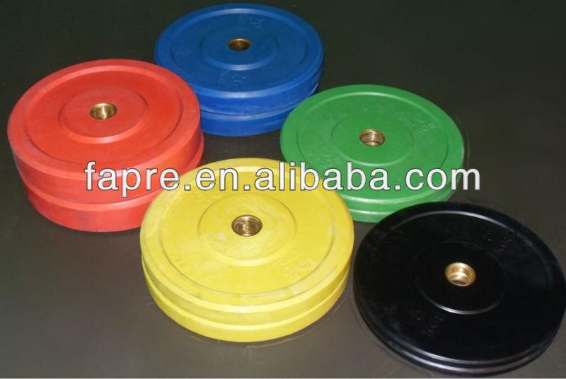 Rubber Bumper Weight Plate