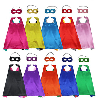 Wholesale Children Superhero Capes With Masks kids capes