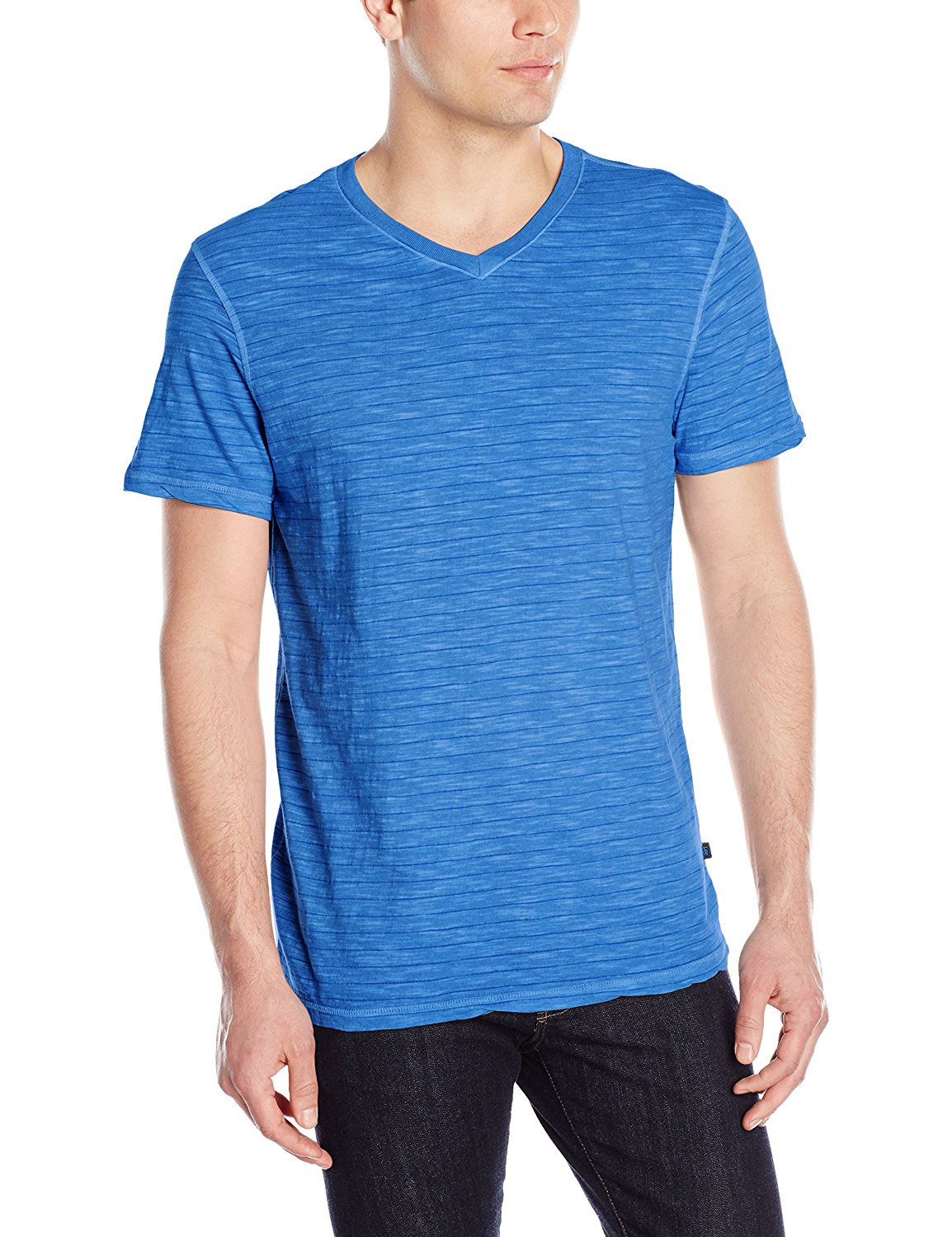 Lee Men's Tipping V-Neck Premium Tee (Regular and Big and Tall Sizes)