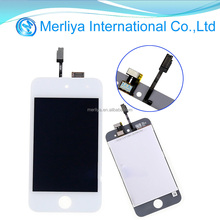 For iPod Touch 4 4th Gen LCD Display Touch Screen Digitizer Front Panel Glass White