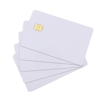 High quality PVC RFID Blank Chip Cards