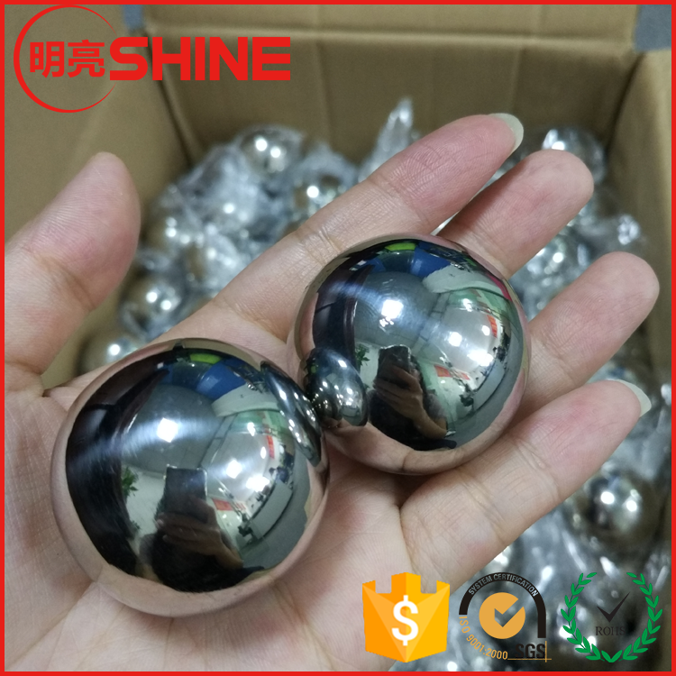 Decorative 10 Inch 316 Stainless Steel Hollow Ball 25.4mm