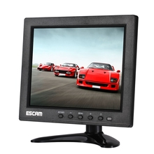 T08 8 pollice TFT <span class=keywords><strong>LCD</strong></span> 1024x768 Monitor per PC CCTV Security