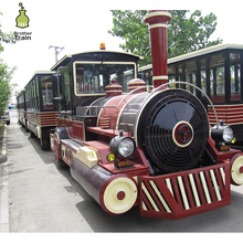 high quality playground track trackless low price electric tourist train for sale