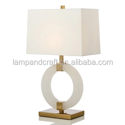 hot selling Modern simple white alabaster stone marble desk <strong>lamp</strong> furniture adornments table <strong>lamp</strong> for home decor