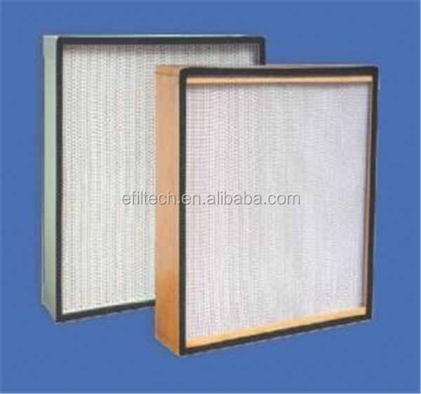 Supply high efficiency particulate air filter hepa heat resistant fillter