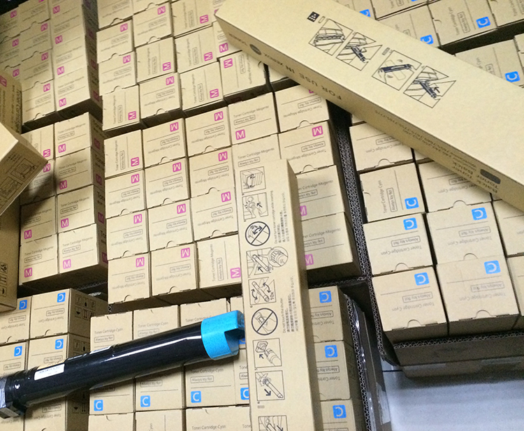Çin üst kartuşu üreticisi yazıcı kartuşu ve toner tozu ricoh kyocera oki lexmark minolta Hp canon