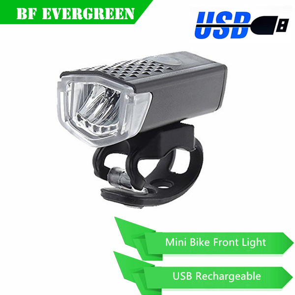 Rechargeable LED Bike Light Cycling Headlight Bike Front Light USB Rechargeable