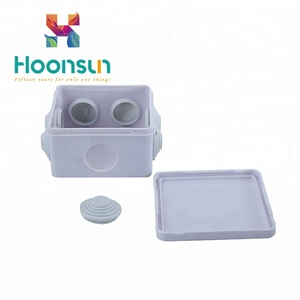 Custom junction box ip66 Plastic ABS Enclosure Box IP65 waterproof junction box cable gland