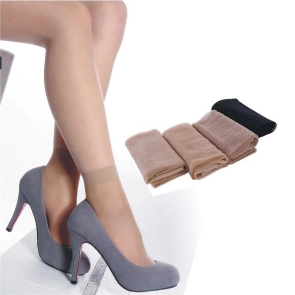 61b44736a89 Get Quotations · Black Sexy Women Socks Black Sexy Nylon Socks Cool Women s  Socks Girl Series Women Cute Breathable