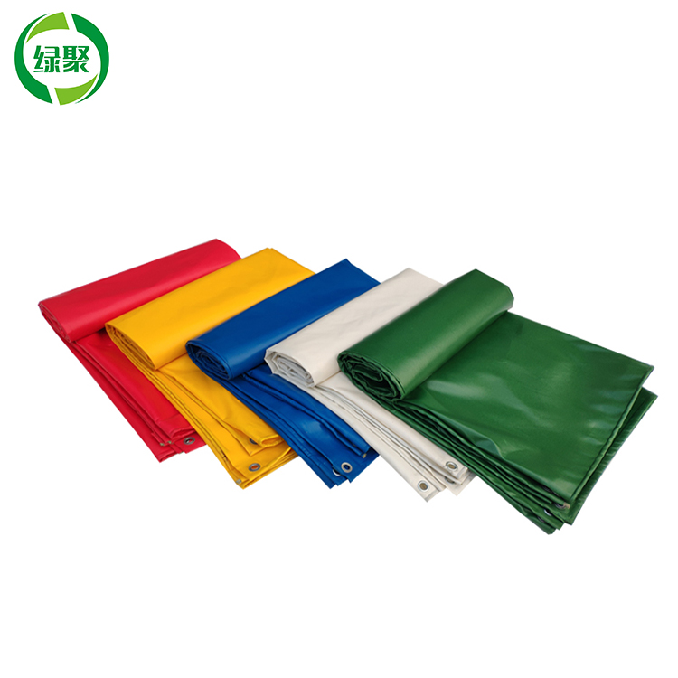 Custom Waterproof Polyester Pvc Coated Fabric, 500gsm Pvc Coated Canvas Tarpaulin