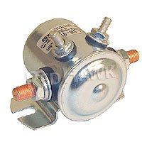Ezgo golf cart 36 volt electric solenoid. 4 terminal, #70 series solenoid with copper contacts and short housing. For E-Z-GO electric 1968-up. LOWER 48 US STATES ONLY!