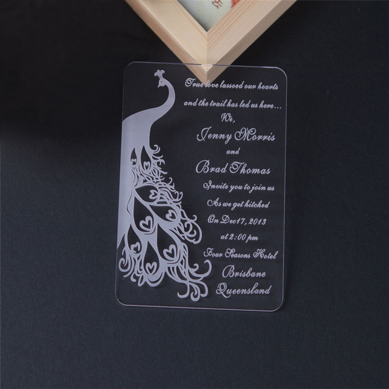 Acrylic Wedding Invitation Acrylic Wedding Invitation Suppliers and