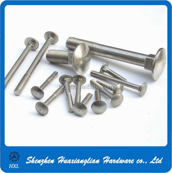 Stainless Steel Carriage Bolts Din 603 M12