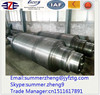recoiling and uncoiling equipment expandable mandrel shaft