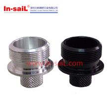 China fastener supplier threaded stainless steel pipe fitting plastic end caps