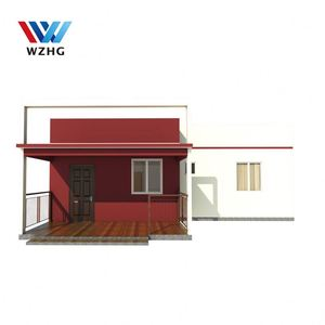 alibaba 100m2 2 bedroom cement modular house plans