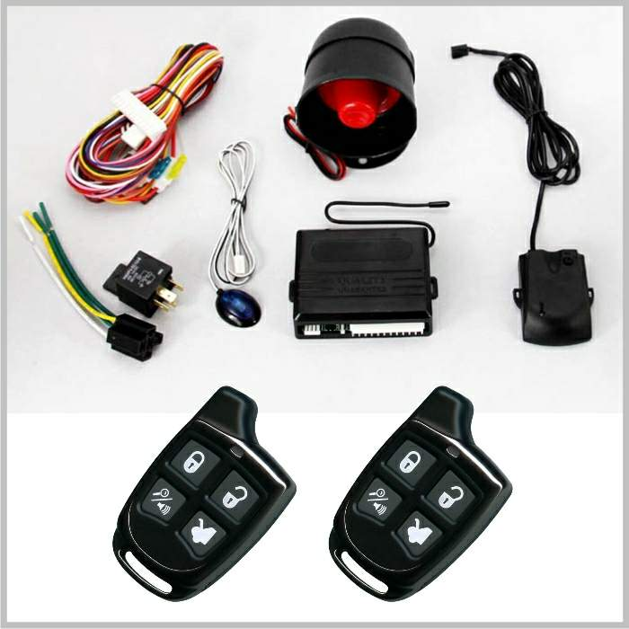 Lixing Security Burglar Wireless Universal Car Alarm