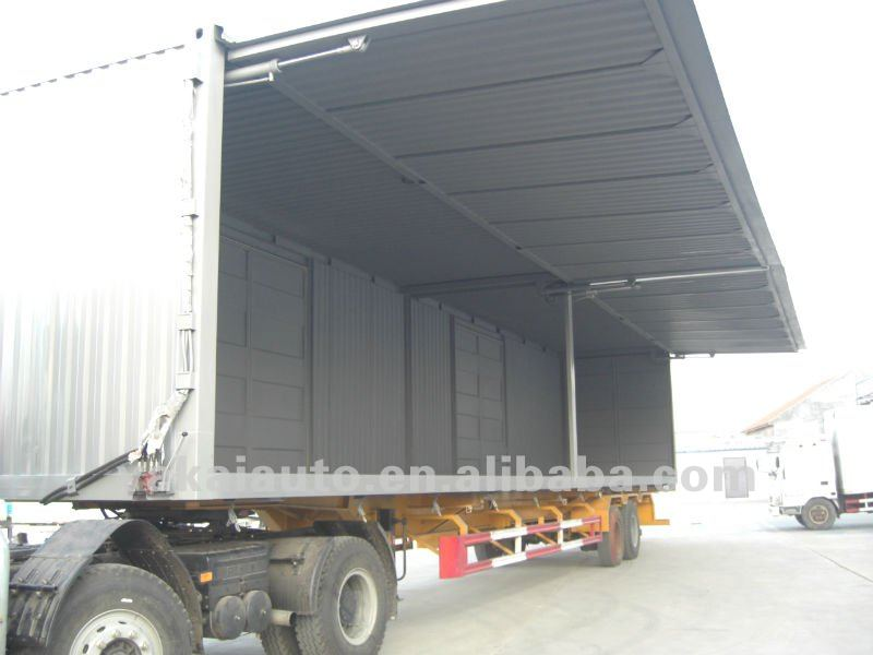 10t Cargo Truck Dimensions Winging Opening Truck Body ...