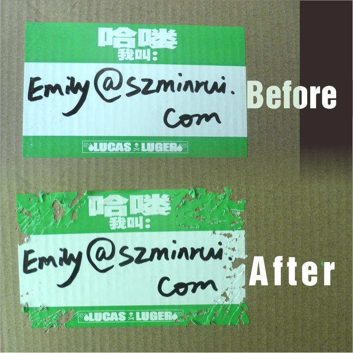 Custom blank eggshell sticker in sheets or in rolls custom blank vinyl graffiti art use