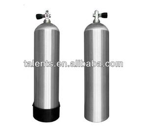 12L scuba aluminum diving cylinder and diving equipments