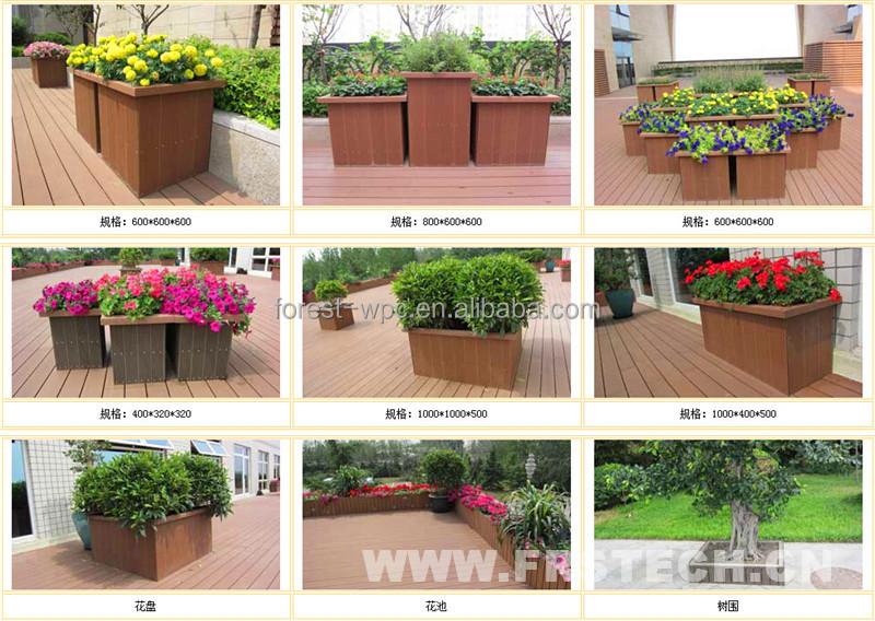 Ordinary Plant Pots For Sale Part - 5: 400x390x400mm Frstech Wpc Landscape Garden Pots For Sale Planting Pots  Cheap Plant Pot Garden Plastic Pot