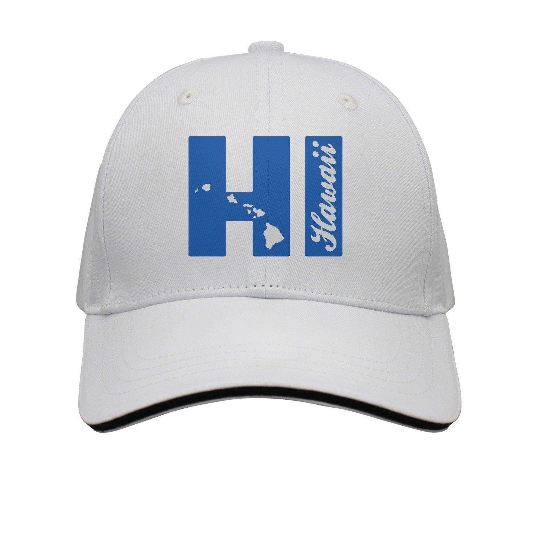Get Quotations · SJSNBZ HI Hawaii Islands Unisex Adult Mens Cotton Snapback  Caps Womens Snapback Caps 0bfc0682e7c2
