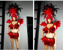 Rio. samba carnival costumes for women/Lingerie ladies dancing dress/stage suits for party outfit 110004